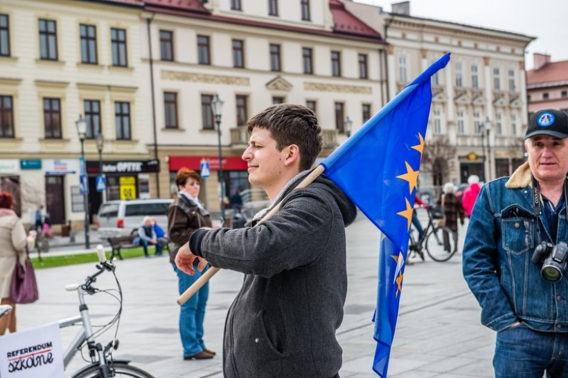 Radny Paweł Janas z Wadowic