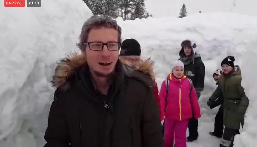 Śnieg sięga dwóch metrów!
