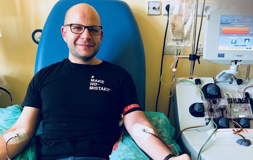 Konrad Jędrocha to kolejny dawca szpiku dla osoby chorej na białaczkę