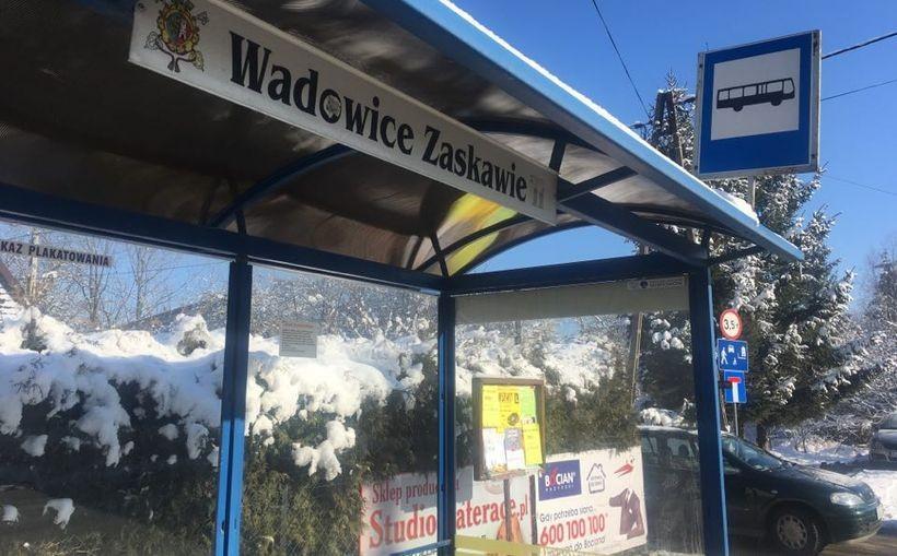 Czy Zaskawie dojedzie do Wadowic darmowym busem?