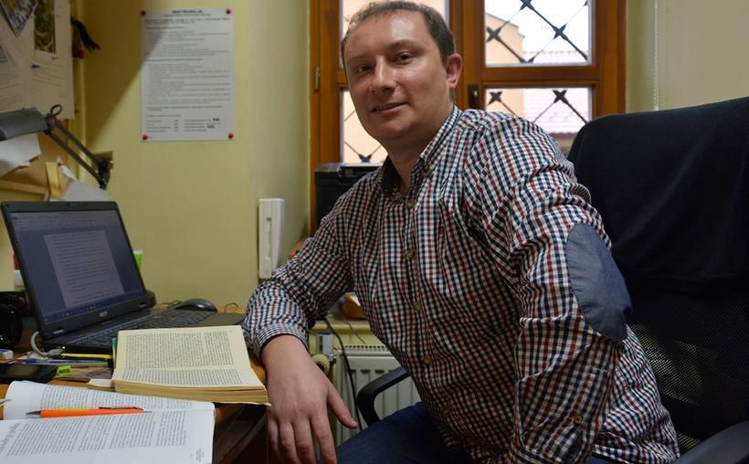 Andrzej Małysa, autor książki