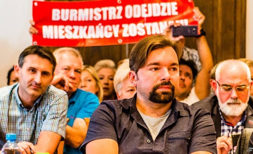 Burmistrz Wadowic Mateusz Klinowski