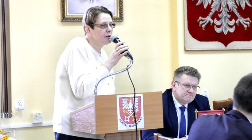 Radna Maria Wądryk z PSL