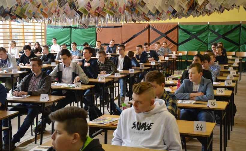 Konkurs w szkole w Radoczy cieszył się dużym zainetresowaniem