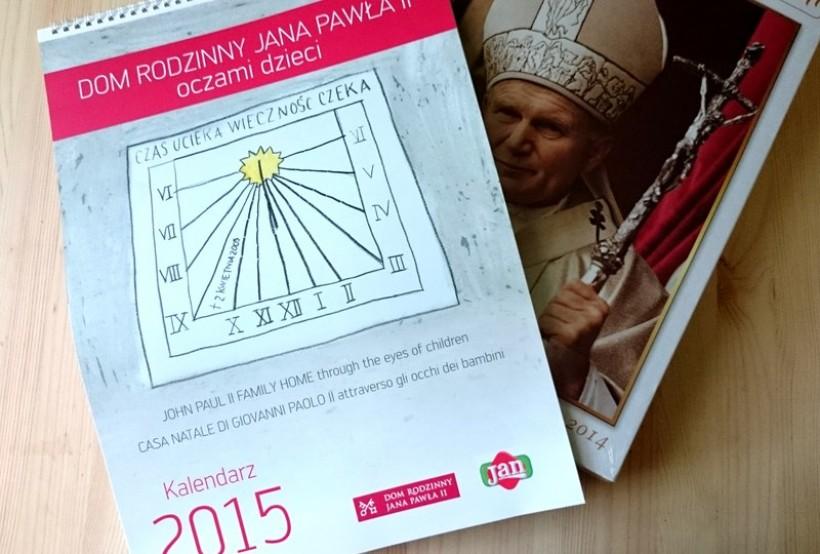 Wspaniałe prace naszych dzieci ozdobiły kalendarz