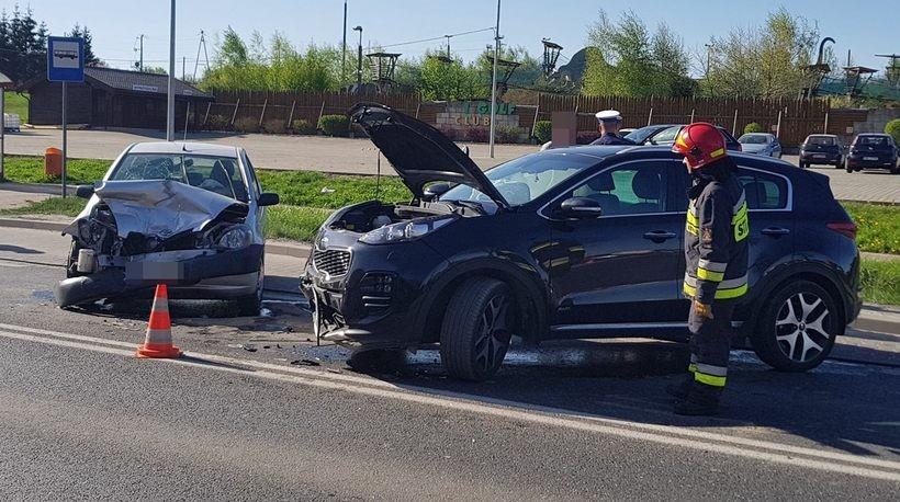 Wypadek w Inwałdzie