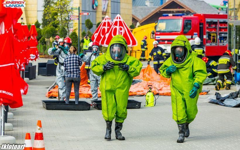 Zagrożenie chemiczne i wielka akcja ratunkowa w Zatorze. W Energylandii musi być bezpiecznie!