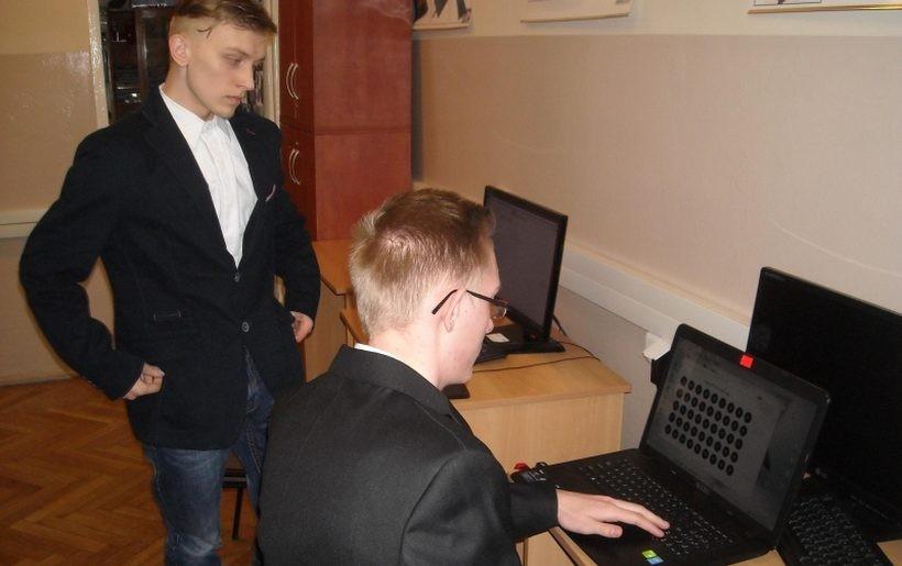Komunikator  szyfrowanego przesyłu danych wykonali w Centrum Kształcenia Zawodowego i Ustawicznego nr 2 w Wadowicach Tomasza Ficek i Łukasz Brańka