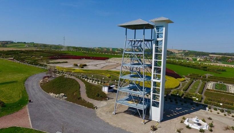 Wieża widokowa w Inwałdzie ma ponad 22 metry wysokości