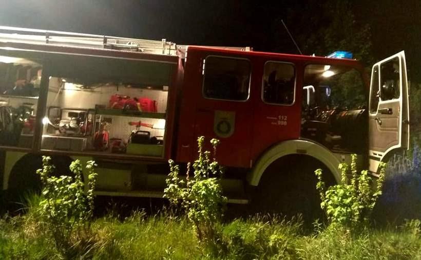 Strażacy gasili m.in. pożar w Jastrzębi