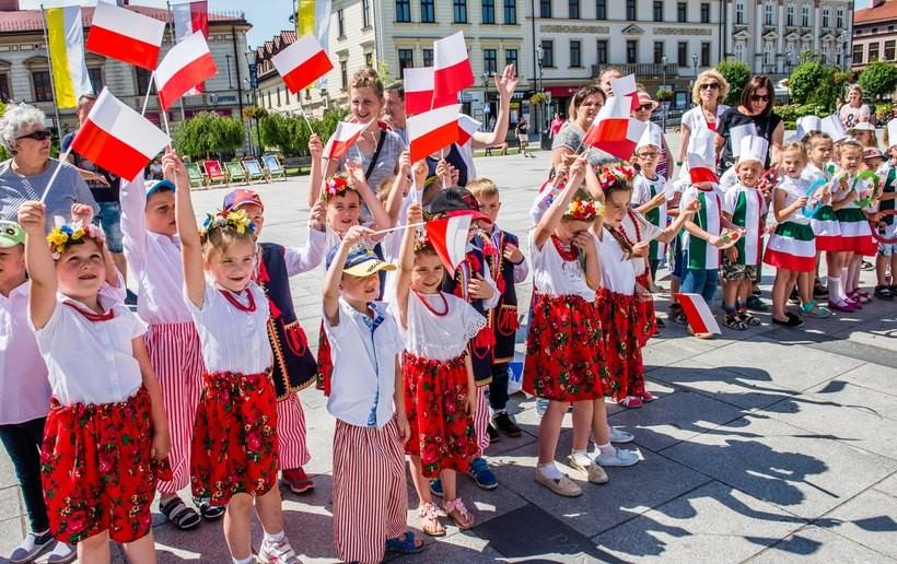 Parada maluchów w Wadowicach