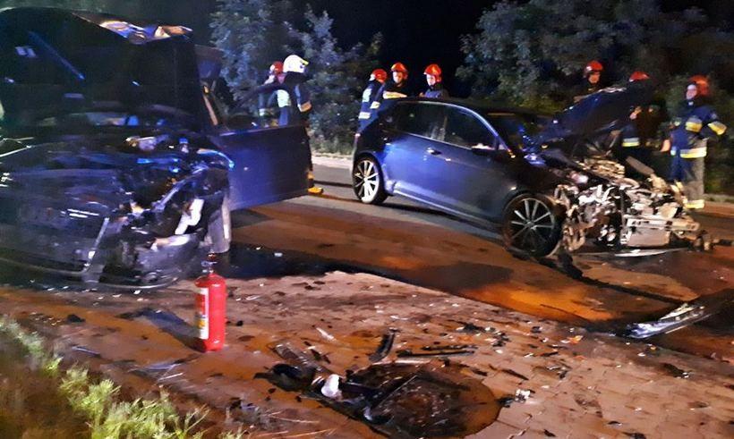 Wypadek na granicy Czańca i Roczyn