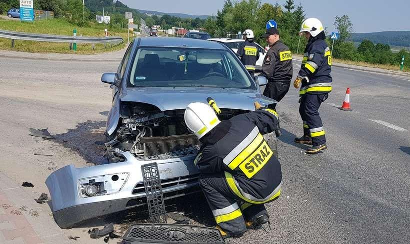 Wypadek w Mucharzu