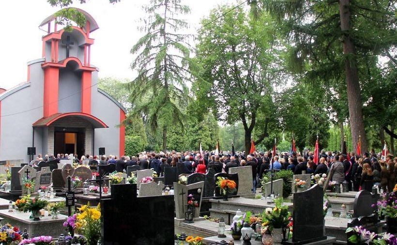 Pogrzeb Tomasza Partyki w Andrychowie