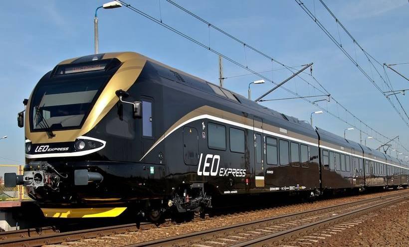 Prywatny pociąg Leo Express