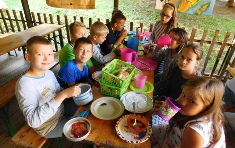 Dzieciaki w Zalesiu miały naprawdę afrykańską pogodę
