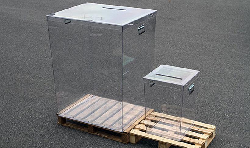 Jedną z nowości będą w tych wyborach przeźroczyste urny