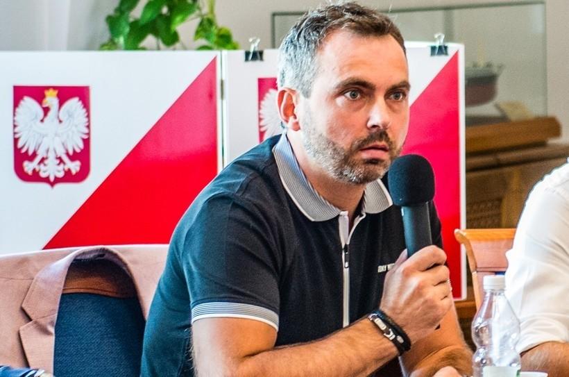 Robert Malik - prezes klubu Iskra Klecza
