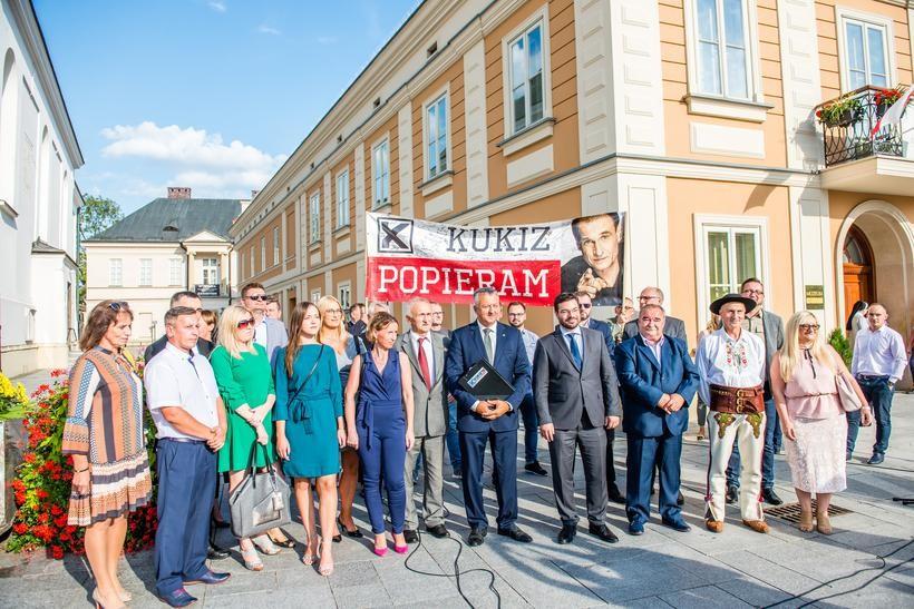 Konwencja wyborcza Ruchu Kukiz'15 w Wadowicach