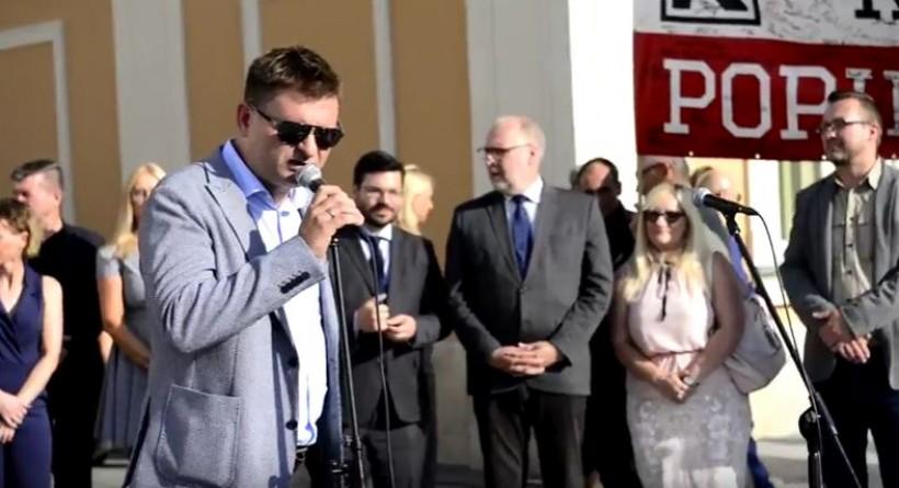 Marcin Gładysz, kandyduje w Wadowicach do Rady Powiatu