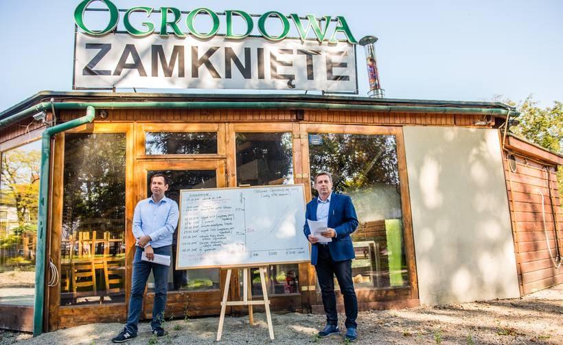 Restaruacja Ogrodowa jest zamknięta od dwóch lat