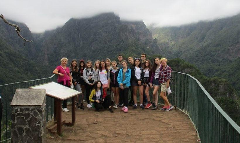 Uczniowie z Wadowic na Maderze