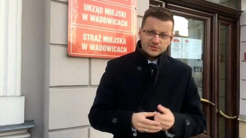 Bartosz Kaliński kandyduje na burmistrza Wadowic