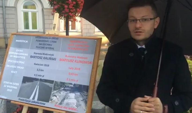 Bartosz Kaliński po raz kolejny zoragnizował konferencję pod urzędem