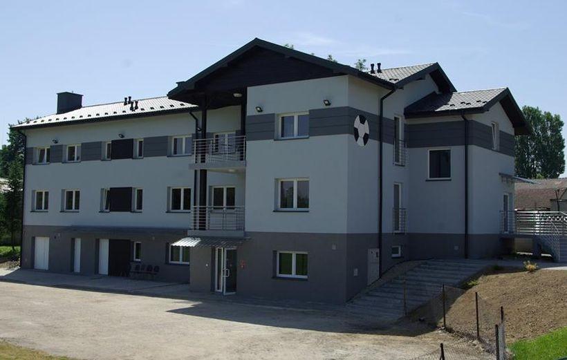 Jeden z obiektów sportowych wyremontowany ostatnio na terenie gminy Spytkowice