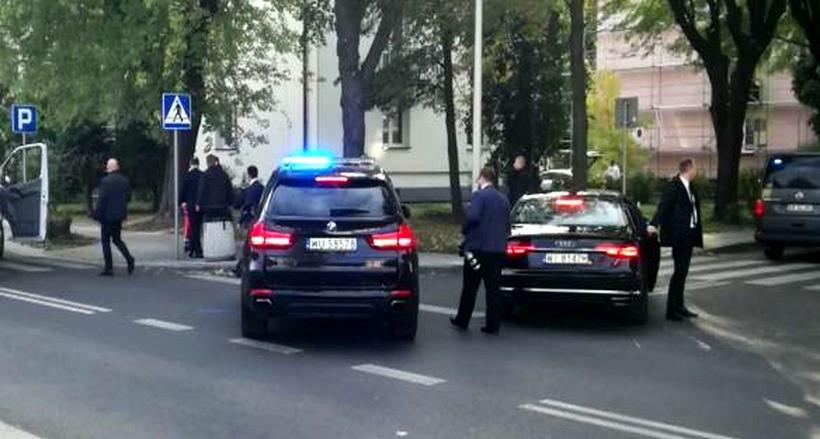 Samochód policyjny z kolumny prezydenckiej potrącił dziecko na przejściu dla pieszych