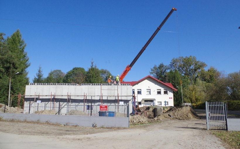 Budowa zbiornika na wodę w Gierałtowicach