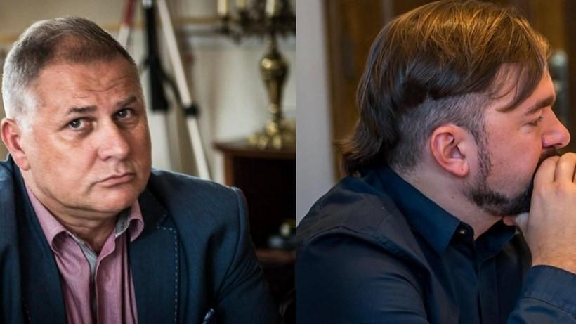 Tomasz Żak i Mateusz Klinowski
