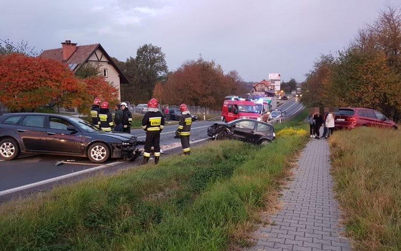 Wypadek w Bulowicach