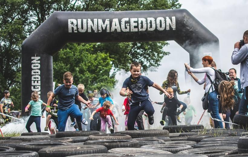 Runmageddon dla dzieci! Najlepszy pomysł na aktywną, jesienną zabawę