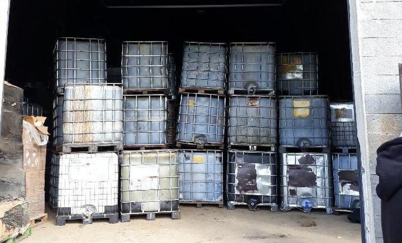 W Spytkowicach ujawniono podejrzane odpady