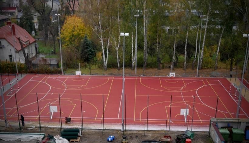 Nowe boisko przy LO im. M.Wadowity w Wadowicach