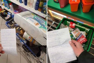 Wolontariusze dostają listy zakupów od seniorów i ruszają codziennie do sklepów