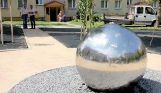 Nowa fontanna w Andrychowie