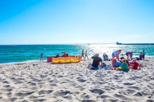 Plaża nad Bałtykiem należała przez pół wieku do Andrychowa