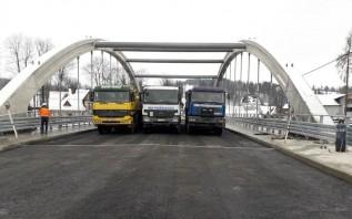 Nowy most w Białym Dunajcu w końcu przejezdny