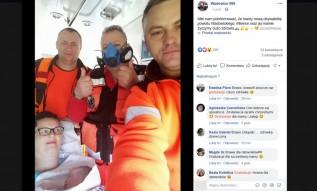 Brawa dla ratowników z Wadowic! Pojechali po rodzącą kobietę, odebrali poród w domu