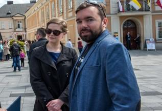 Burmistrz Klinowski i wiceburmistrz Całus