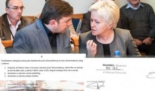 Umowę z firmę pijarowską w imieniu Wadowic podpisał burmistrz Mateusz Klinowski i skarbnik Bożena Flasz