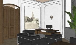 Mniej więcej tak bedą wyglądac wnętrza gabinetu burmistrza