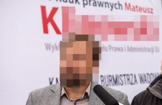 Były burmistrz Wadowic Mateusz K. usłyszał prokuratorskie zarzuty. Jest podejrzany o...