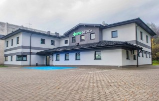 Centrum Medyczne znajduje się przy Alei Matki Bożej Fatimskiej 94, 34- 100 Wadowice
