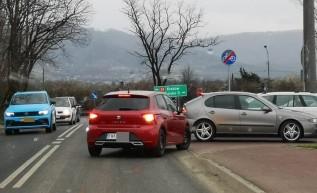 Chaos komunikacyjny przy McDonald's w Andrychowie. Wkrótce wielkie zmiany na tym skrzyżowaniu!
