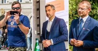 Klinowski, Skorecki i Kaliński - to oipowalczą o najważniejsze stanowisko w wadowickim samorządzie