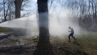 W 2018 roku w Wadowicach zorganizowano bitwę na pistolety wodne