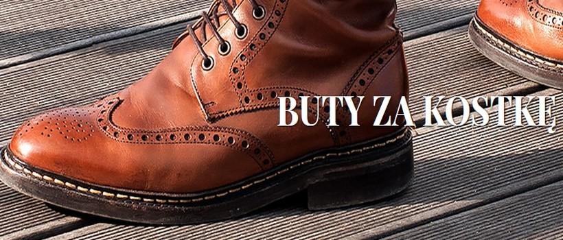 Dlaczego warto zakupić męskie buty za kostkę?